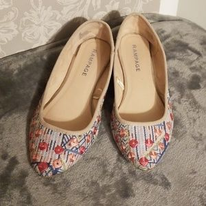 Detailed Slip on Flats
